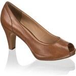 Humanic bota s otevřenou špičkou