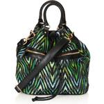 Topshop Straw Duffle Backpack