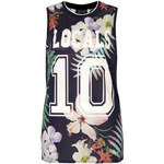 Topshop Locals Only Floral Tank
