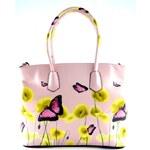 Růžová kabelka do ruky Lovely Bellasi