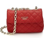Guess Suave Quilted Crossbody Mini Flap Bag