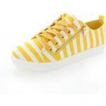 Žluté plátěné tenisky Janika EUR37