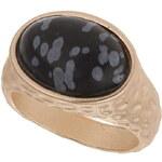Topshop Matte Semi Precious Ring