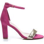 BELLE WOMEN Překrásné fuschiové dámské sandály, vel. 38