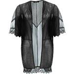 Top Firetrap Mesh Kimono dám. černá XS