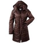 sheego Prošívaný kabát, sheego hnědá 44