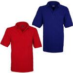 Lesara Herren-Poloshirt mit Brusttasche - Rot - M