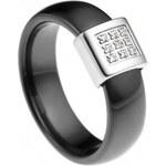 Ceramic Line Dámský prsten Ceramic Line Ring 0 50 W MB-SCBA4-N
