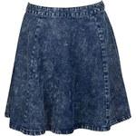 Venca Krátká džínová sukně modrá