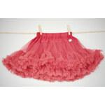La Petite Suzette Casual tutu sukýnka sukně pro dospělé malinově červená Velikost: XXL (dospělí)