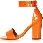 Topshop RAMBLE Patent Leather Sandals