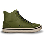 CrocsHover Mid Leather Army Green/Stucco M12