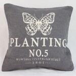 Polštář Planting šedý