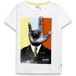 Name it - Dětské tričko s krátkým rukávem 122-158cm - bílá