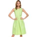 Simple - Šaty - žluto-zelená