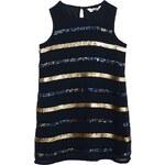 3pommes - Dívčí šaty 104-140cm - tmavomodrá