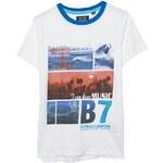 Blue Seven - Dětské tričko s krátkým rukávem 140-176CM - bílá