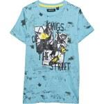 Blue Seven - Dětské tričko s krátkým rukávem 140-176cm - modrá