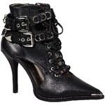 Jeffrey Campbell - Kotníkové boty Ravier - černá
