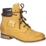 Bronx - Kotníkové boty - písková