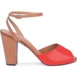 Gino Rossi - Sandály na podpatku - béžová