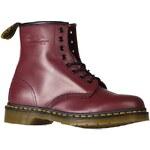 Dr Martens - Kotníkové boty 8Eye - kaštanová