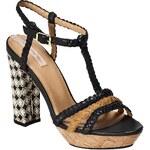 Pepe Jeans - Sandály na podpatku Sant James - černá
