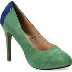 Friis & Company - Boty na jehlovém podpatku Camila - zelená