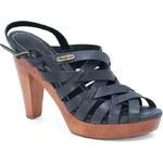 Pepe Jeans Shoes - Sandály na podpatku - tmavě modrá