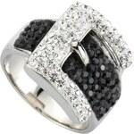 firetti Ring ´´Gürtel-Optik´´ mit Kristallen