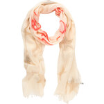 Tom Tailor printed rhine stone shawl