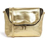 Pull&Bear Cross Body Bag in Gold