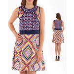 Lesara Kleid mit Ethno-Muster - 42