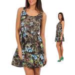 Lesara Kleid mit Dschungel-Print - 40