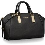 Calvin Klein kabelka Scarlett leather city dome satchel