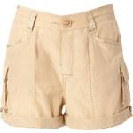 Polo Ralph Lauren Silk-Cotton Cargo Shorts