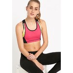 Bjorn Borg Colour Block Bra Top in Pink, Yellow and Blue