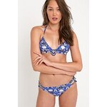 Hipanema My Love Beaded Print Bikini Set in Blue