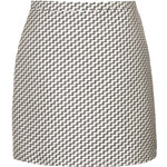 Topshop Zig Zag Weave Skirt By Boutique