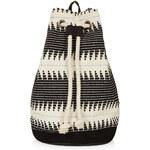 Topshop Zig Zag Duffle Backpack