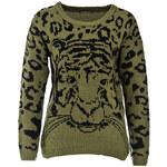 Terranova Sweater with tiger