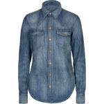 Ralph Lauren Blue Label Western-Style Jean Shirt
