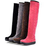 LightInTheBox 4 Color Women's Winter Snow Over Knee High Boots