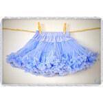 La Petite Suzette Casual tutu sukýnka sukně chrpově modrá Velikost: M (6-8let)