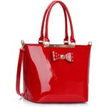 LS Fashion Kabelka LS00326A červená