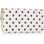 LS Fashion peněženka LSP1048 bílá