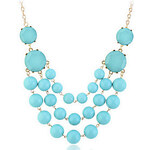 LightInTheBox Fashion Jewelry Lady Bubble Bib Statement Chain Necklace