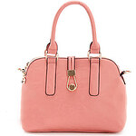 LightInTheBox POLO Simple Stylish Solid Color Single Shoulder Crossbody Bag/Tote(Pink)