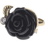 LightInTheBox Vintage Style Black Rose Ring