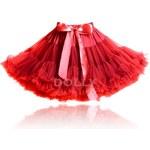 LE PETIT TOM Dolly sukně Červená Karkulka Velikost: SMALL (3-6 roků) - délka sukně 31 cm